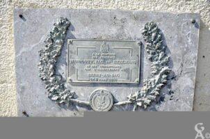 Plaque Commémorative du Pont de l'Aisne