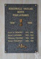 Plaque Commémorative de la Mairie 39-45