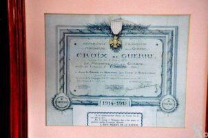 Croix de Guerre 14-18 de la Mairie