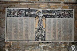 Plaque Commémorative de la Cathédrale
