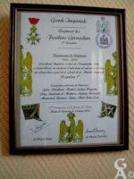 Tableau Commémoratif Garde Impériale