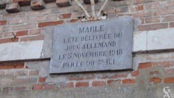 Plaque Commémorative de la Libération 1918