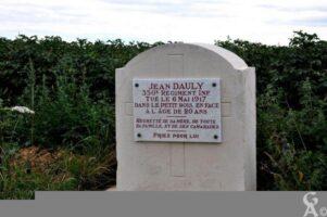 Monument Commémoratif Jean DAULY
