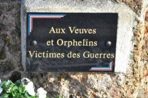 Stèle Commémorative des Veuves et Orphelins
