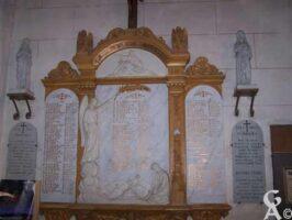 Plaques Commémoratives de l'Eglise