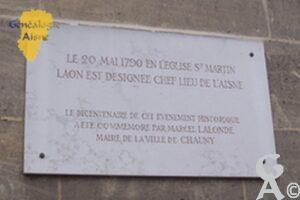 Plaque commémorative - Eglise Notre Dame