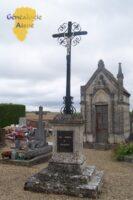 Croix commémorative - Cimetière