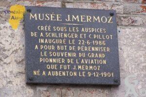 Plaque - Musée Jean MERMOZ