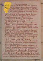 Plaque de la basilique