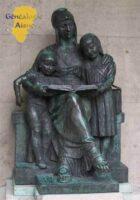 Jardin d'horticulture - Champs Elysées : Monument du cinquantenaire des écoles laïques : 1881-1931