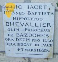 Plaque Chevallier