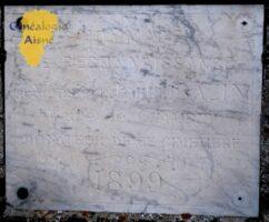 Plaque Commémorative Emile BAZIN