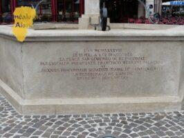 fontaine de la place San Lorenzo de l'Escorial