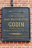 Plaque de la Maison Natale de Jean Baptiste GODIN