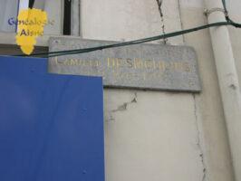 Plaque maison natale de Camille DESMOULINS