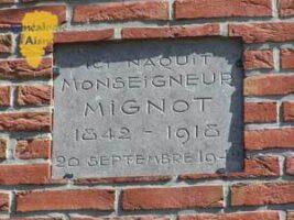 Plaque Mgr MIGNOT