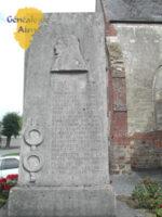 Monument commémoratif Nicolas BLONDEL