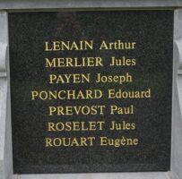 Monument aux morts d'Attilly- Jean-Marie Lefèvre