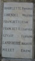 Monument aux morts d'Artemps - J.M. Lefèvre