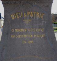 Abbécourt-Monument 1870-1871-Jean-Marie Lefevre