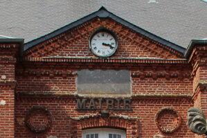 Plaque de l'Horloge de la Mairie