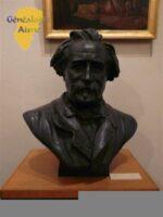 Musée municipal - Buste et plaque de Jules HUSSON