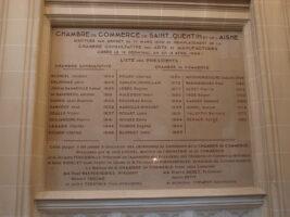 Plaque Espace Saint-Jacques - Ancienne Chambre de Commerce