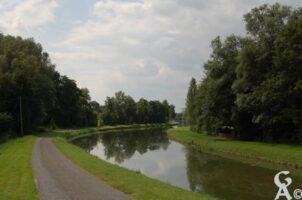 canal de la sambre à l'Oise. - Contributeur : Maryse Trannois