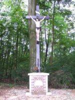 Le calvaire route du cimetière érigé par la mission de Gricourt le 5 mars 1911 - Contributeur : S. Sartori