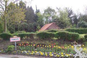 L'entrée du village - Contributeur : C. Burlot