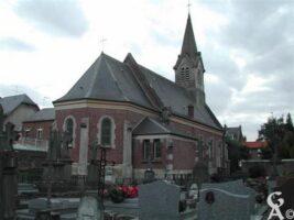 l'église et le cimetière - Contributeur : Guy Destré
