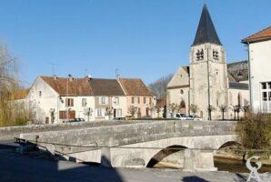 Le centre-ville et la Dhuys. - Contributeur : Sébastien sartori