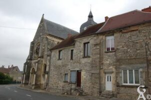 l'entrée de l'église - Contributeur : Maryse Trannois