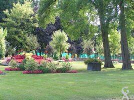 Les jardins de l'ancienne abbaye dont seul le puit subsiste - Contributeur : S. Sartori
