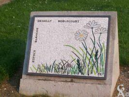 Plaque de l'espace Blanche Desailly-Noblecourt - Contributeur : S. Sartori