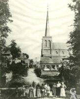 L'église vers 1914 - Contributeur : D.Malot