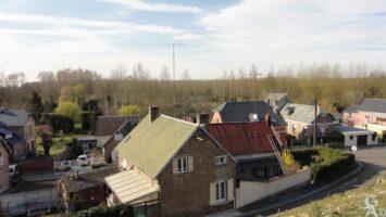 Le village vu de l'église - Contributeur : N.Pryjmak
