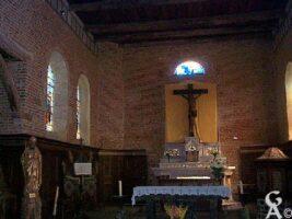 Intérieur de l'église - Contributeur : M. Trannois