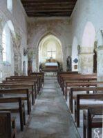 L'intérieur de l'église  - Contributeur : J.P. Brazier