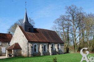 L'église - Contributeur : M. Sance