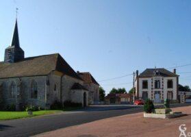 L'église et la mairie - Contributeur : Michel Sance