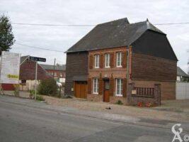 Maison datée de 1854 - Contributeur : Natty