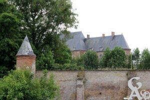 Enceinte du château - Contributeur : André Demolder