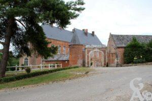 Porche du château - Contributeur : André Demolder
