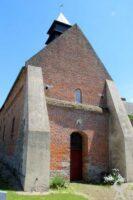 L'église : façade - Contributeur : A.demolder