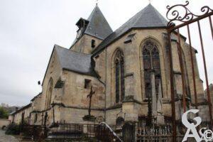Eglise et ancien cimetière - Contributeur : A.Demolder