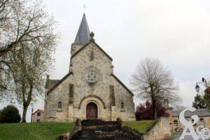 Porche de l'église - Contributeur : A.Demolder