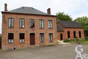 Mairie et école - Contributeur : A.Demolder