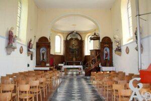 Interieur de l'église - Contributeur : A.demolder