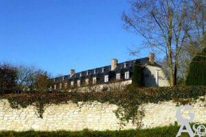 Le château vu de la rue de Bucy - Contributeur : Danièle Oudin